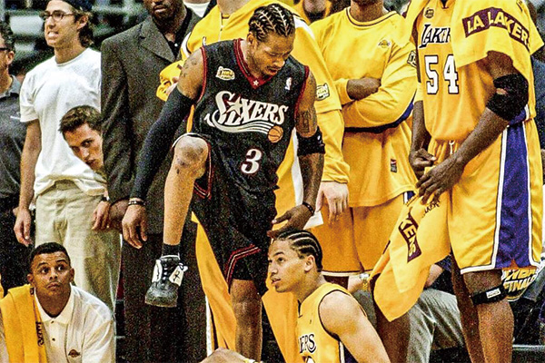 2001年NBA总决赛发生了什么?2001年