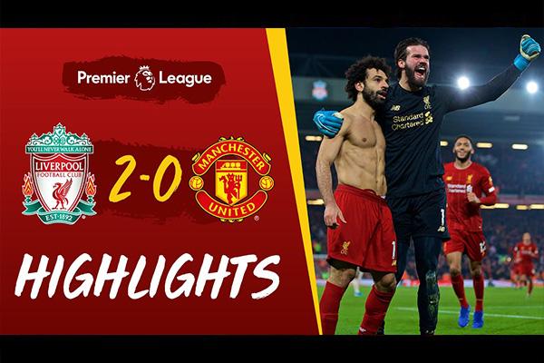 <b>利物浦2比0击败曼联!英超霸主姿态尽显!</b>
