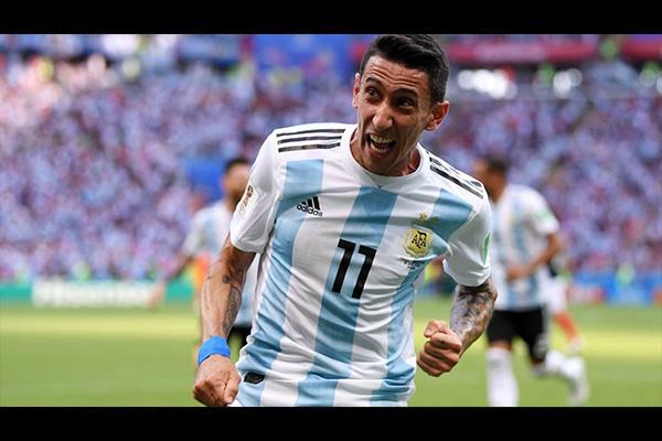 迪马利亚天使降临!远射得分帮助阿根廷扳平比分!