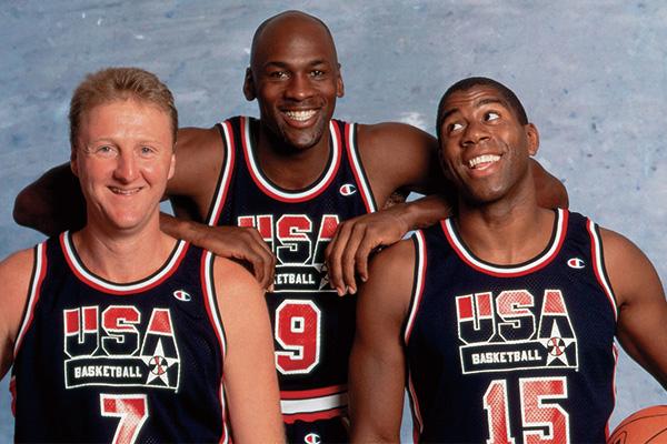 梦之队的三位大佬