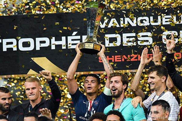 本赛季大巴黎直接获得法甲冠军