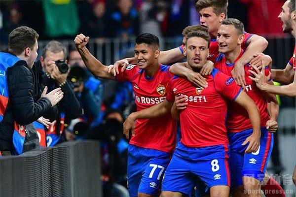 欧冠小组赛皇马被莫斯科中央陆军3比0击败