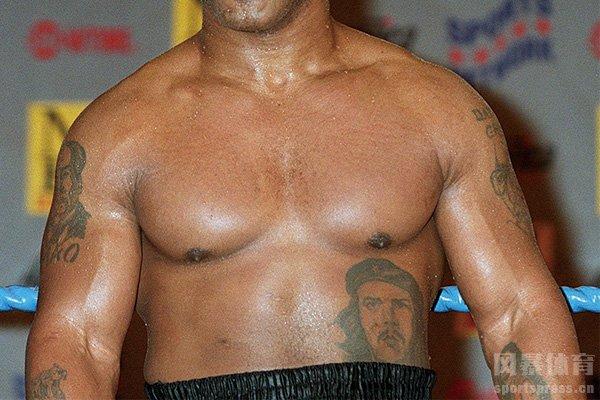 泰森的切格瓦拉纹身