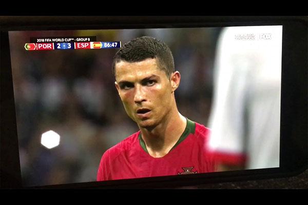 C罗世界杯的天神下凡!C罗脸庞杀气十足!