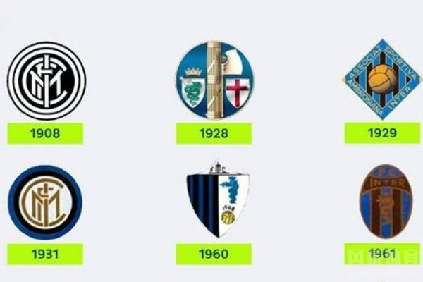 国际米兰历史队徽变化