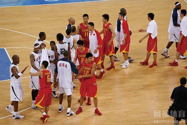 中国男篮赢得了对手的尊重