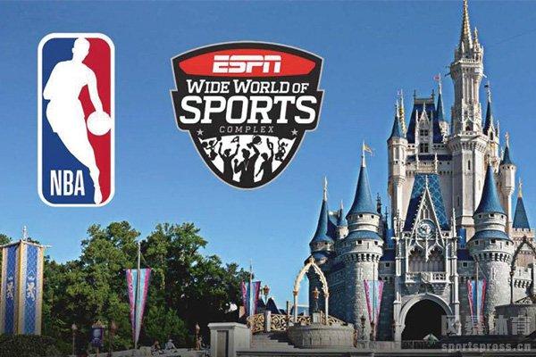 NBA复赛将与迪士尼合作