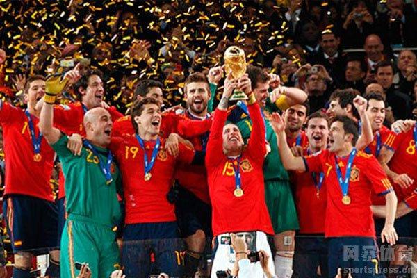 西班牙最终获得2010世界杯冠军