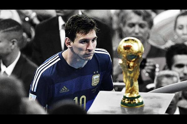 2014世界杯决赛梅西的错愕!那届比赛最凄美的场景!