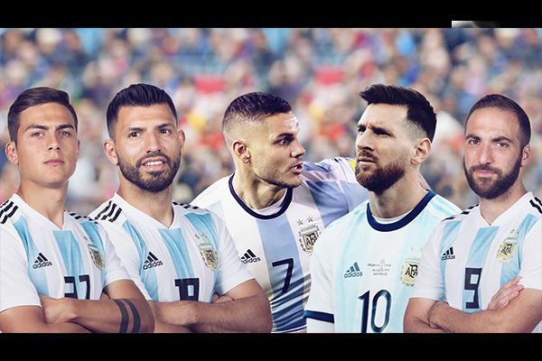 <b>阿根廷队锋线华丽十足!盘点阿根廷队阵容!</b>