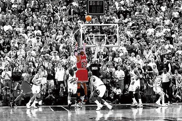 乔丹最后一投 NBA史上最伟大的绝杀