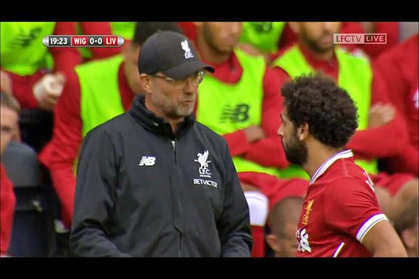 萨拉赫是利物浦的一哥!萨拉赫深得克洛普的信任!