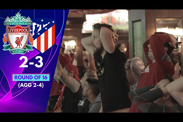 <b>利物浦2比3不低马竞!盘点利物浦球迷的高兴与悲伤!</b>