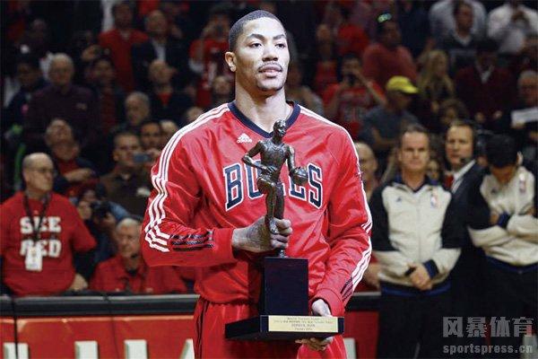 罗斯获得MVP