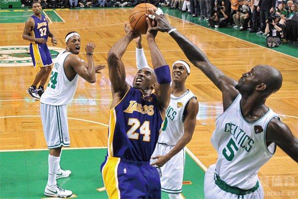 回顾2010年NBA总决赛 湖人凯尔特人的巅峰对决