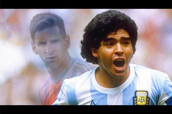 <b>梅西与马拉多纳的相似之处!盘点阿根廷两大球王!</b>