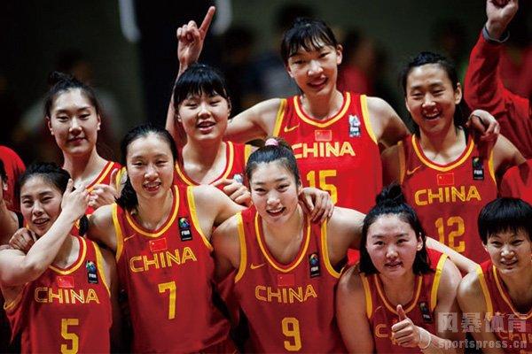 部分中国女篮队员