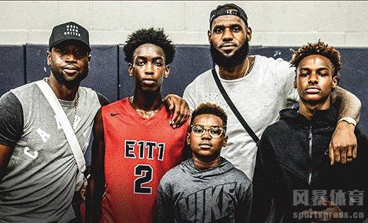 NBA球星儿子