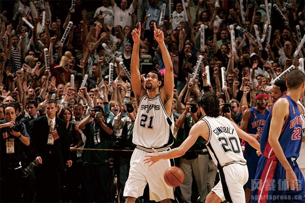 2005年NBA总决赛第七场集锦 马刺击败活塞夺冠