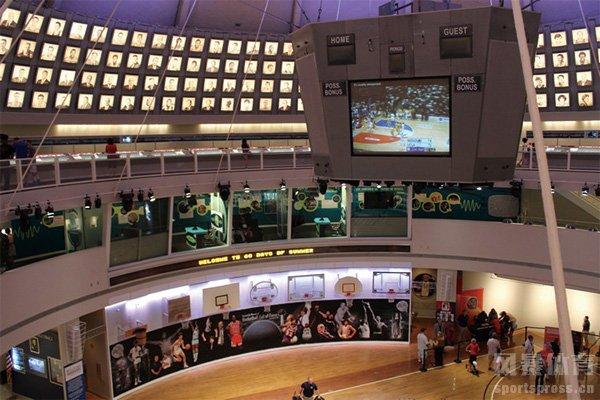 篮球名人堂内景