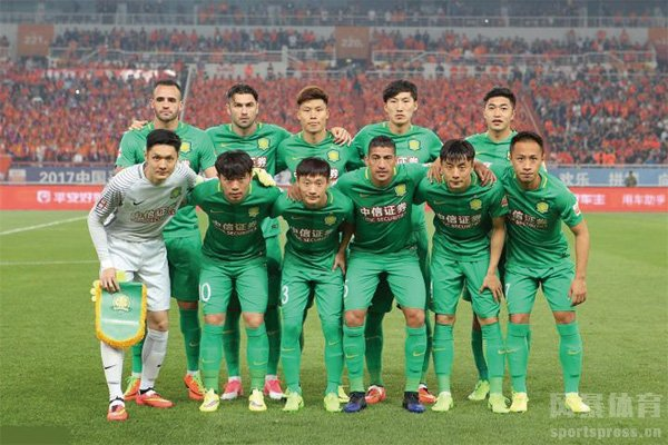北京国安队员