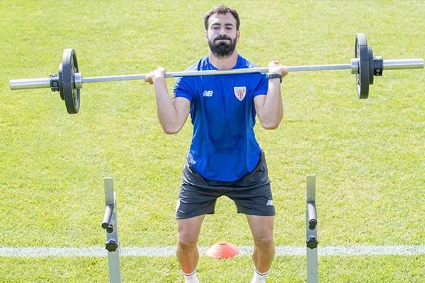 西甲球队毕尔巴鄂竞技集合训练 西甲大战即将开启