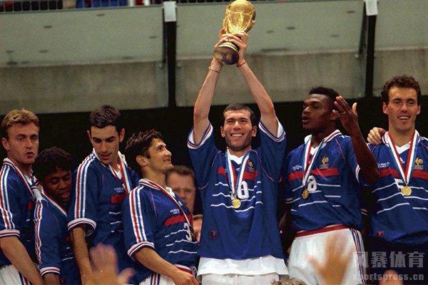 1998世界杯冠军法国队