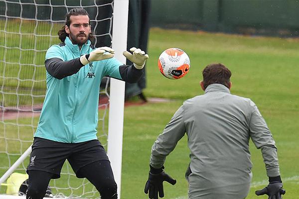 目前为止利物浦继续持续训练,强势的备战让利物浦更加强大