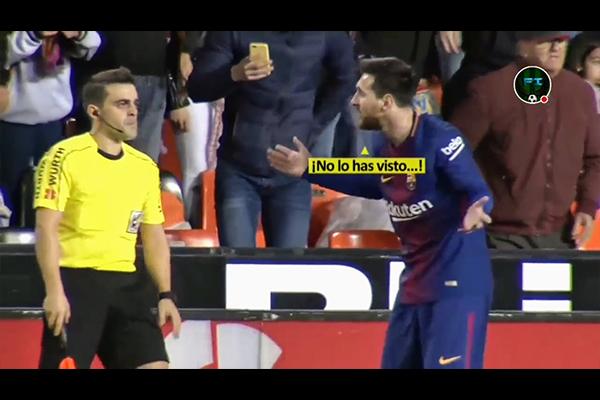 梅西面对裁判的错误判罚!盘点球场上不公平的判罚!