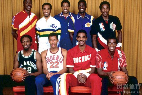 首届NBA扣篮大赛参赛选手