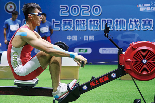 <b>中国赛艇队破纪录!老将张亮成全世界陆上赛艇马拉松最快</b>