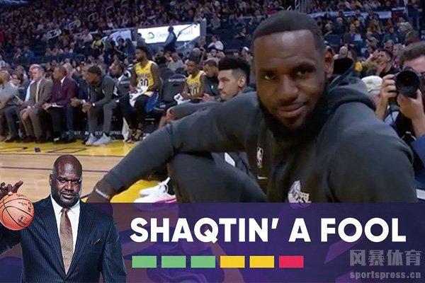 奥尼尔五大囧视频 NBA搞笑视频