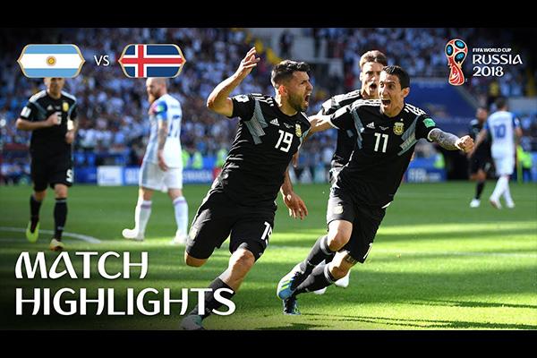 阿圭罗是足坛顶级前锋!盘点世界杯阿圭罗精彩的表现!