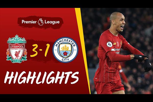 利物浦3比1击败曼城!盘点全场比赛精彩集锦!