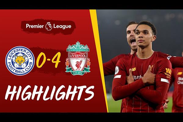 利物浦4比0血洗莱斯特城!盘点全场精彩集锦!