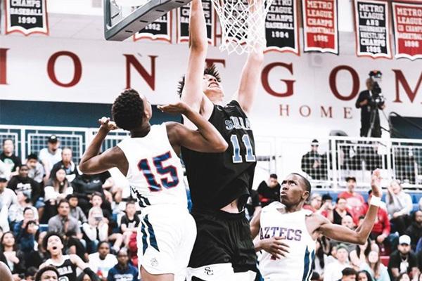 余嘉豪美国高中联赛视频 余嘉豪美国篮球视频