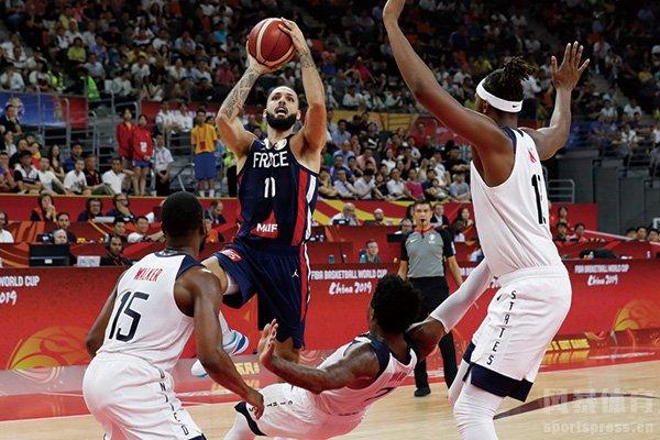 美国男篮VS法国男篮