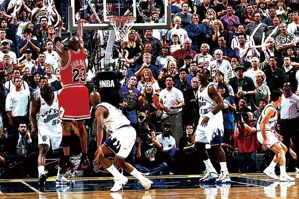 NBA总决赛得分榜盘点 乔丹只排第二