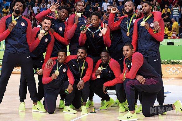 美国男篮是奥运会卫冕冠军