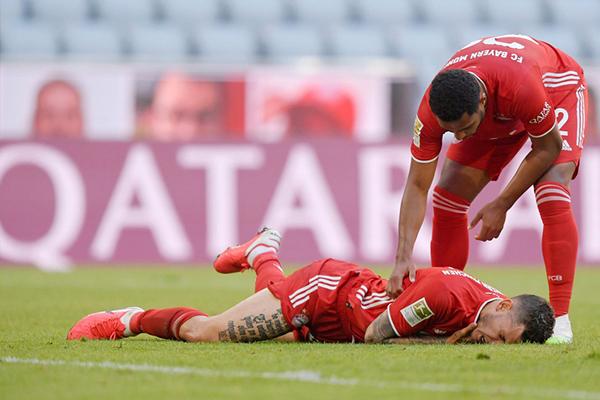 拜仁本场比赛赢得十分艰难,而苦尽甘来,拜仁德甲冠军基本稳了