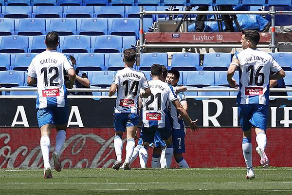 这场比赛也能看出来,西班牙人保级心态十足