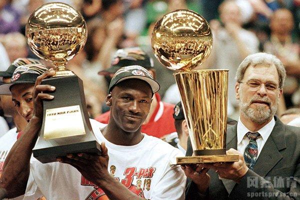 乔丹曾六次获得总决赛MVP