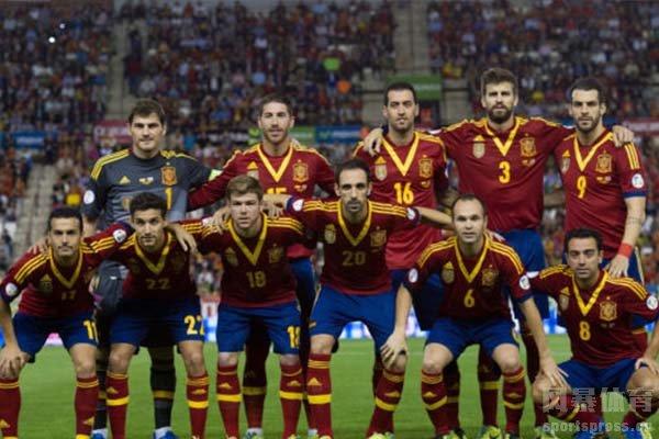 西班牙队有着强大的巨星和精彩的表现
