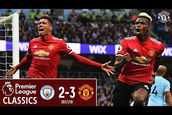 曼联3比2击败曼城!曼联一直是曼城的克星!