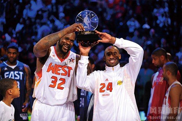 2009年NBA全明星赛集锦 科比携手奥尼尔获MVP