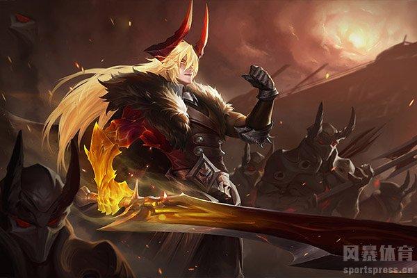 李信也是王者段位战场上的热门英雄