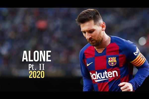 梅西现在巅峰依旧!盘点梅西2020的精彩集锦!
