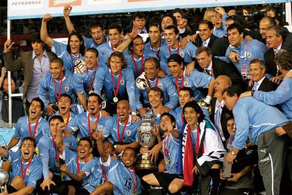 2011年美洲杯冠军乌拉圭队