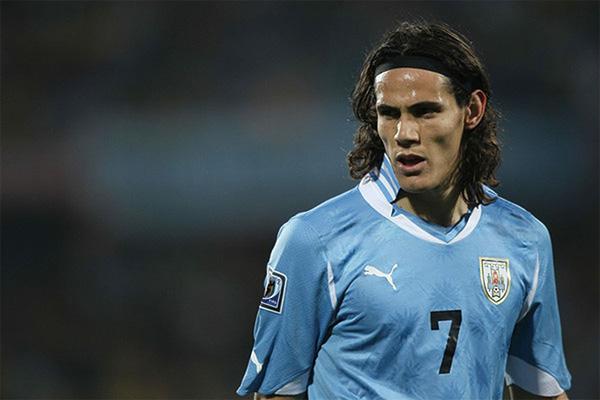 乌拉圭队球星卡瓦尼