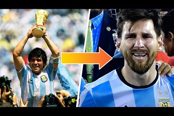 <b>从马拉多纳的辉煌到梅西的哭泣!阿根廷到底经历了什么!</b>